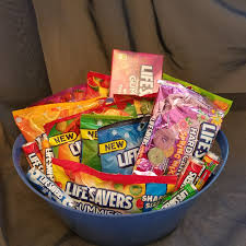 candy gift baskets lifesavers candy gift basket on storenvy