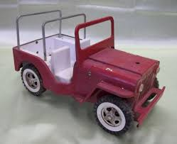 pink toy jeep 1960 u0027s tonka lifeguard jeep w matching boat