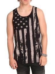 rude american rude american flag tank top hot topic