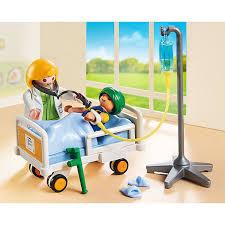 chambre enfant playmobil 6661 chambre d enfant avec médecin playmobil city playmobil