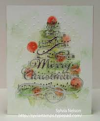 sylvia u0027s stamping corner merry christmas two more cards