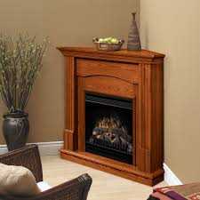 decor corner home depot electric fireplaces with dark wood mantle