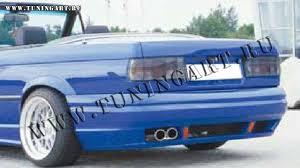 Bmw E30 Rear Valance Tuning Rear Bumper For Bmw E30