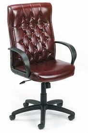 Leather Office Chair Front Variety Design On Leather Tufted Office Chair 121 Office Chairs