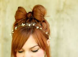 hair bow how to style a hair bow a beautiful mess