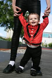 Michael Jackson Halloween Costume Kids Moonwalk