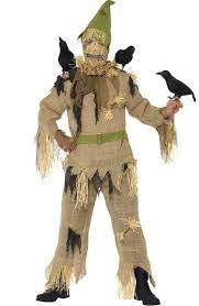 Crow Halloween Costume Men U0027s Scarecrow Halloween Costume Wizard Oz Scarecrow Costume