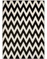 Black Chevron Area Rug Great Deals On Lyke Home Carved Burgundy Chevron Area