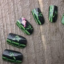 spring time nail art design
