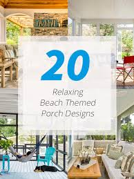 Home Design Beach Theme 20 Relaxing Beach Themed Porch Designs Home Design Lover