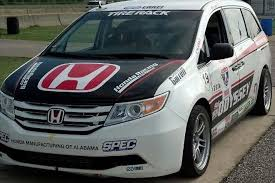 honda odyssey racing 500 hp honda odyssey minivan enters pikes peak international hill