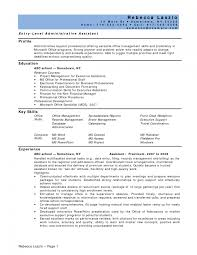 Resume Format Event Management Jobs by Endearing Resume Template Entry Level Customer Service Examples