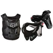 fox motocross chest protector leatt gpx race brace and fox racing proframe lc roost deflector