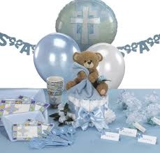 communion table centerpieces baptism decorations for boys teddy themed christening