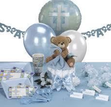 baptism decorations for boys teddy bear themed christening