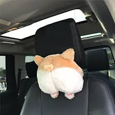 coussin si e auto fantaisie corgi inférieur de siège de voiture cou oreiller chien