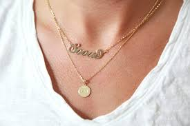 Gold Nameplate Necklaces Fave Fridays U2013 The Haute Cookie