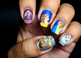 beauty and the beast nail art images nail art designs