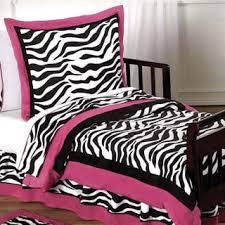 Pink Zebra Comforter Sweet Jojo Designs Girls U0027funky Zebra U0027 3 Piece Full Queen