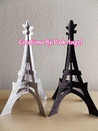 eiffel tower centerpiece 3d eiffel tower topper glitter eiffel tower eiffel tower cutout