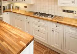 cuisine plan de travail bois le plan de travail en bois lamellé collé