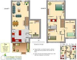 five unique townhouse floor plans cordage green