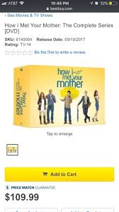 does anyone know if this is legit new dvd boxset himym