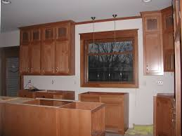 9 Ft Ceiling Kitchen Cabinets Notice The Split Upper Cabinet With The Small Upper Doors This Is