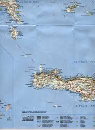 Crete Map Map Of Ancient Greece