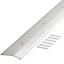Laminate Flooring Strips Flexco Reducer 1 In X 36 Cappuccino Vinyl Reducers Floor