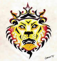 tattoo design lion king lion tattoo design by alexgarvin on deviantart