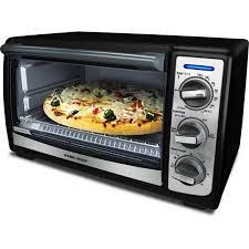 Tfal Toaster Oven Black U0026 Decker Convection Toaster Oven Black Tro4075b Walmart Com