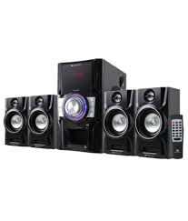 home theater speakers india buy zebronics 4 1 bluetooth speaker bt4910 rucf online at best