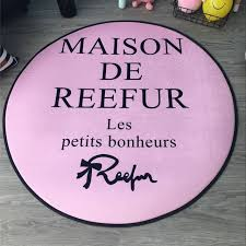 Maison Home Decor Online Shop Round Pink Maison De Reefur Carpet Fashion Non Slip