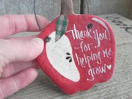 apple ornament salt dough teacher gift u2013 cookie dough creations
