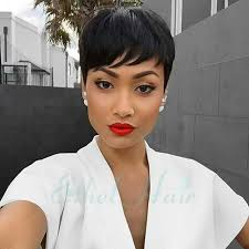 new haircuts full lace short human hair wigs for black women
