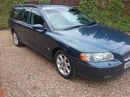 volvo v70 s estate rare manual 2 4 petrol blue in milford