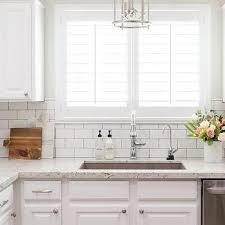 kitchen subway tile backsplashes white granite kitchen countertops with white subway tile backsplash