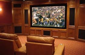Designing A Media Room - picture perfect technologies home theater