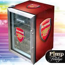 mini fridge glass door promotion chiller counter top display