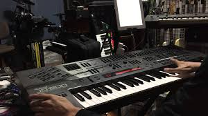 roland home theater dream theater metropolis pt 1 keyboard cover roland jd 800 youtube