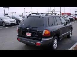 hyundai santa fe 2004 review 2004 hyundai santa fe 4dr gls 4wd auto 3 5l v6