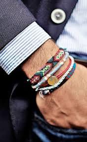 string bracelet men images Mens style stacked bracelets mens style pinterest bracelets jpg