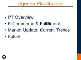 Webinar E Commerce Logistics Oct The Logistics Of E Commerce Bricks And Clicks Clicks And
