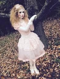 Halloween Custom Costumes Creepy Doll Halloween Costume Creepy Doll Halloween Costume