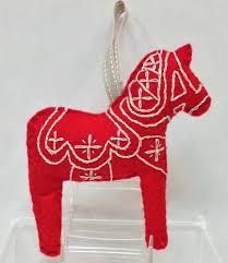 dala ornament a swedish shop