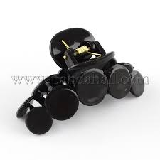claw hair wholesale plastic claw hair flat hair accessories