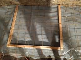 pouring a concrete floor in a dirt basement u2013 hare brain investments