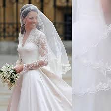 kate middleton veil inspired princess kate veil elbow length