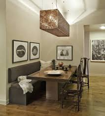 kitchen minimalist corner kitcheng booth dining picture with